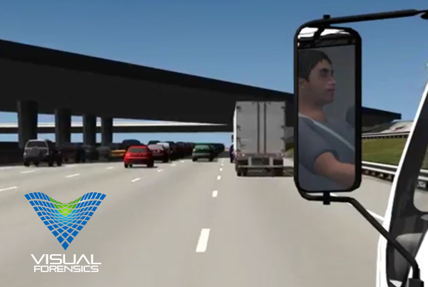 Forensic 3D Animation – Box Truck Collision Animation
